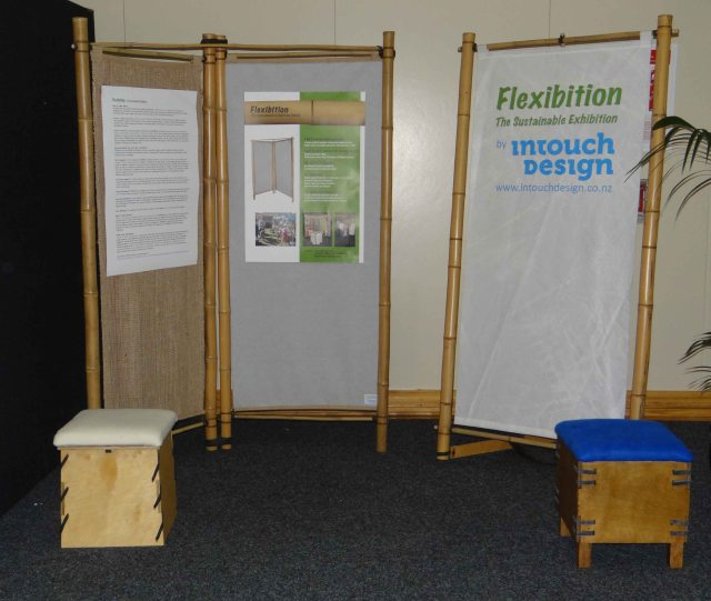 Flexibition's range of sustainable exhibition stand products