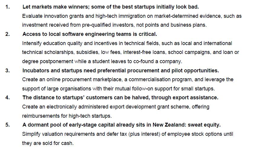A five-step plan to crank up our startup ecosystem | Idealog